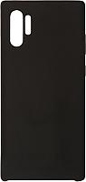 Чехол-накладка Volare Rosso Soft Suede для Galaxy Note 10+ (черный) -