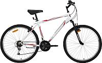 Велосипед Mikado Blitz Evo 26SHV.BLITZEVO.18WT8 (белый/красный) -