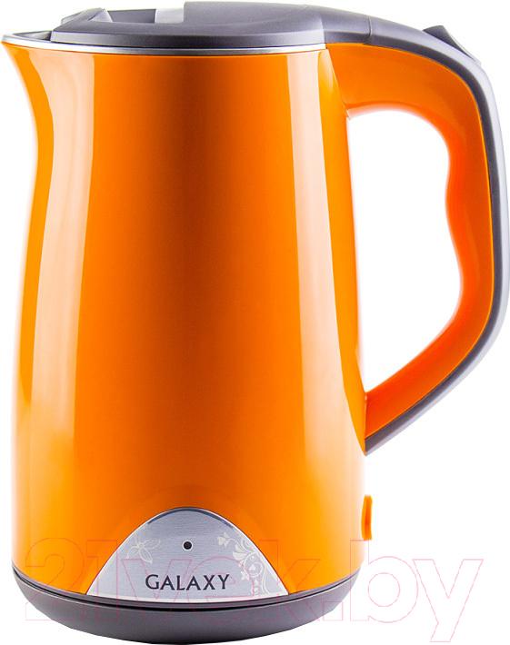 Купить Электрочайник Galaxy, GL 0313, Китай, оранжевый