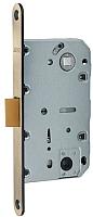 Защелка врезная с фиксацией Arni 410В AB квадратная (пластик) -