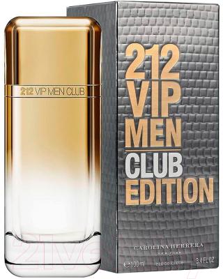 Carolina Herrera 212 Vip Club Edition 100мл туалетная вода купить