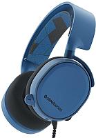 Наушники-гарнитура SteelSeries Arctis 3 (синий) -