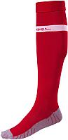 Гетры футбольные Jogel JA-003 (красный/белый, р-р 38-41) -