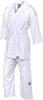 Кимоно для карате Green Hill Club KSST-10354 (р.2/150, белый) -