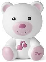 Ночник Chicco Медвежонок Dreamlight / 98301 (розовый) -