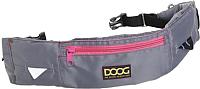Сумка для дрессуры DOOG Maxi / WB17 (серый/розовый) -