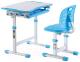 Парта+стул Растущая мебель Elfin B201S (голубой) -