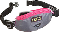Сумка для дрессуры DOOG Mini / Mini09 (серый/розовый) -