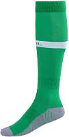 Гетры футбольные Jogel JA-003 (зеленый/белый, р-р 32-34) -