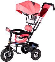 Детский велосипед с ручкой Babyhit Kids Tour (red linen) -
