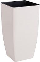 Вазон Алеана Квадро 115038 (белая роза) -