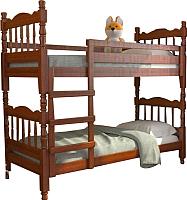 Двухъярусная кровать Bravo Мебель Соня 90x200 (орех) -