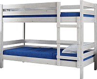 Двухъярусная кровать Bravo Мебель Джуниор 90x200 (дуб белый) -