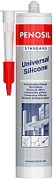 Герметик силиконовый Penosil Standard универсальный (280мл, белый) -