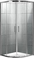 Душевой уголок Mowe Omnia A-1201-C (90x90, матовое структурное стекло) -