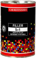 Грунтовка автомобильная CS System Filler 5+1 / 85018.1 (1л, серый) -