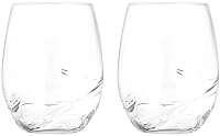 Набор стаканов Bohemia Crystal Turbulence 23018/500-2 (2шт) -