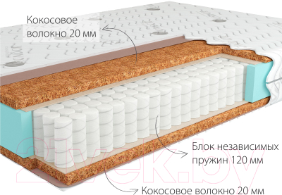 Матрас Kondor Solid Mini 140x200 (стрейч)