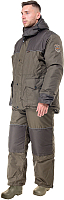 Костюм рыбацкий Huntsman Полюс V Хаки со снегозащитными гетрами (56-58/182) -