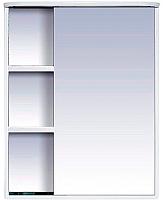 Шкаф с зеркалом для ванной Misty Венера 60 / П-Внр04060-01СвП -
