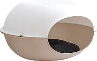 Лежанка для животных MP Bergamo Luna Bianco 24.13BE05 (коричневый) -