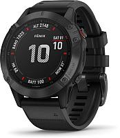 Умные часы Garmin Fenix 6 Pro / 010-02158-02 (черный) -