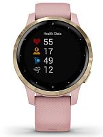 Умные часы Garmin Vivoactive 4s / 010-02172-33 (розовый/золото) -