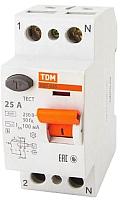 Устройство защитного отключения TDM ВД1-63S 2Р 40А 300мА / SQ0203-0057 -