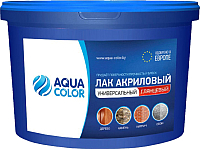 Лак универсальный AquaColor Акриловый (2.5кг, глянцевый) -