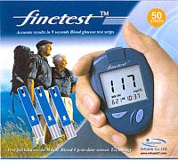 Тест-полоски Infopia Finetest (50шт) -