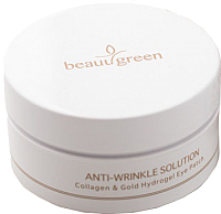 Патчи под глаза Beauu Green Collagen&Gold Hydrogel (30 пар) -