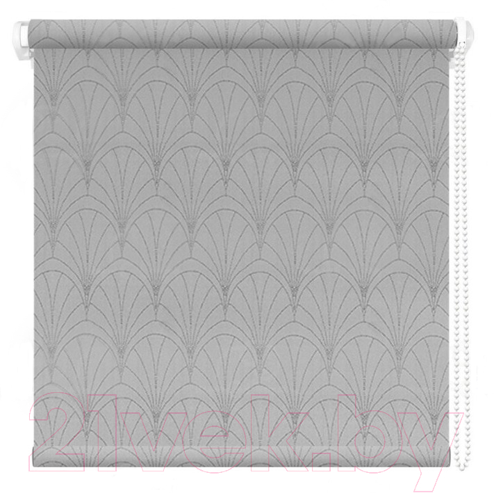 Купить Рулонная штора АС ФОРОС, Веер 42.5x175 (серый), Россия, ткань