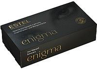 Набор для окрашивания бровей Estel Enigma тон черный -