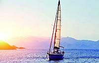 Фотообои Vimala Гоночная яхта в море (260x300) -