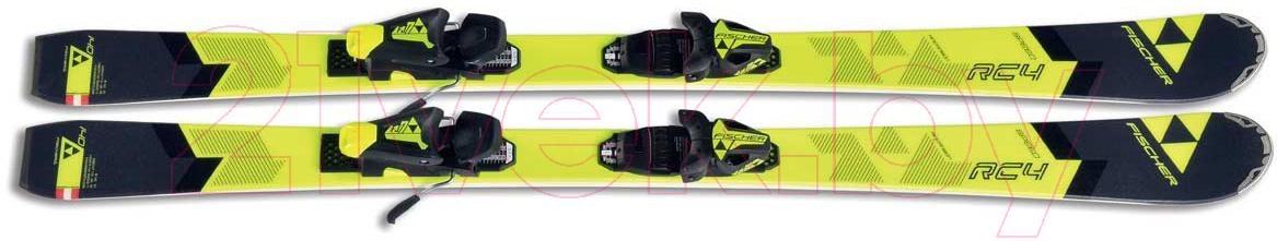 Купить Горные лыжи Fischer, Rc4 Speed Jr Slr 2 Jr / A12616 (р.160), Китай