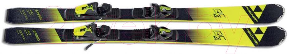 Купить Горные лыжи Fischer, RC4 Speed jr. SLR2 / A12617 (р.160), Китай