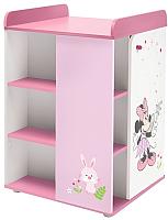 Комод Polini Kids Disney Baby 2090 Минни Маус-Фея (белый/розовый) -