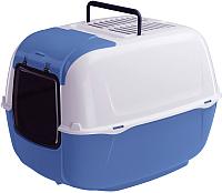 Туалет-домик Ferplast Prima Cabrio (синий) -