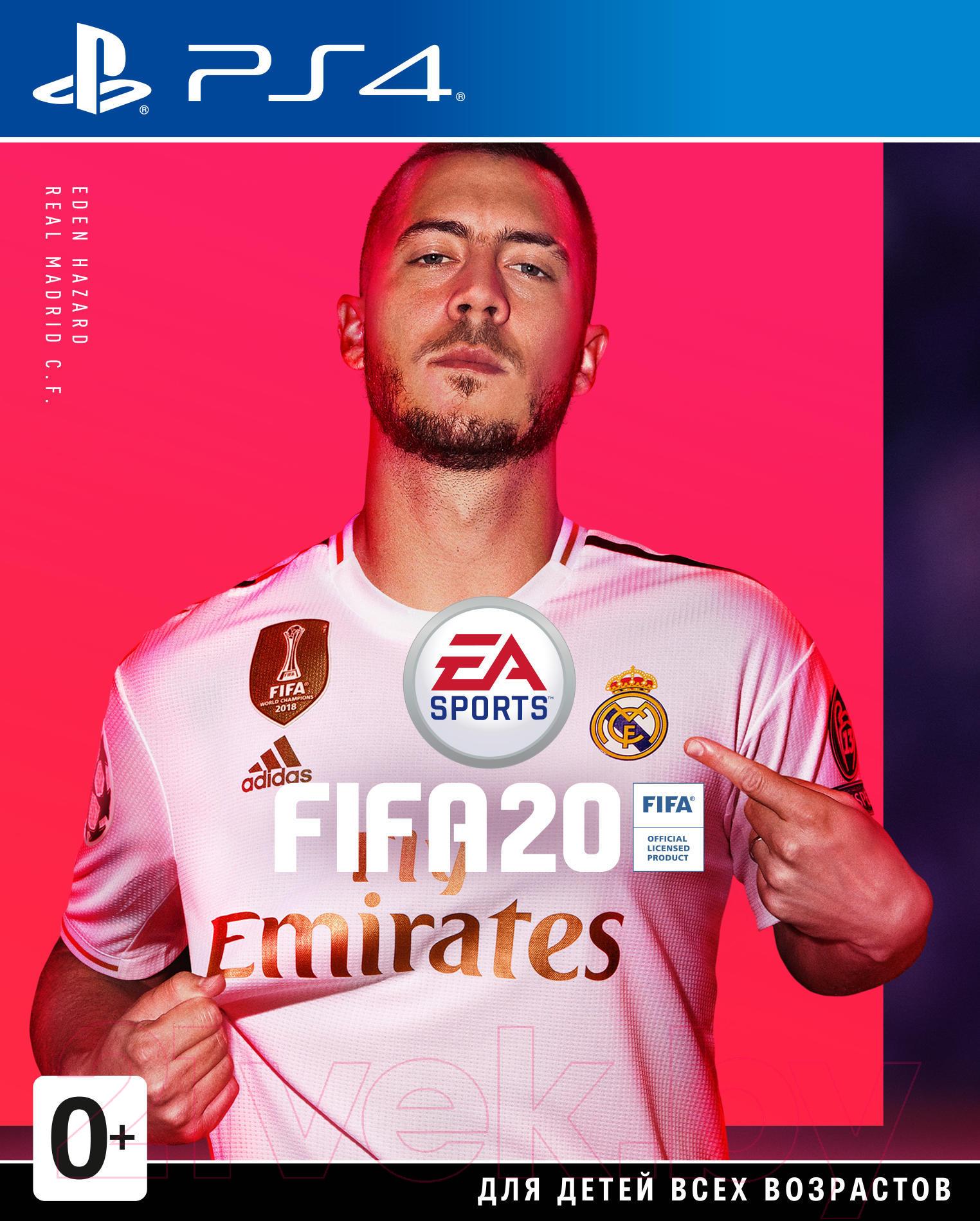 Купить Игра для игровой консоли Sony, PlayStation 4 FIFA 20. Русская версия, Россия