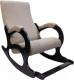 Кресло-качалка Calviano Бастион №4-2 с подножкой (рогожка United 3) -