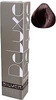 Крем-краска для волос Estel De Luxe Silver 4/56 (шатен красно-фиолетовый) -
