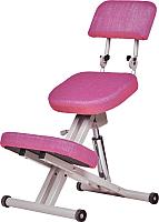 Стул коленный ProStool Comfort Lift (розовый) -