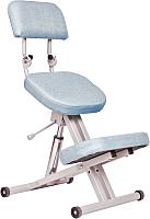 Стул коленный ProStool Comfort Lift (голубой) -