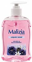 Мыло жидкое Malizia Musk & Blackberry Mora & Muschio с дозатором (500мл) -