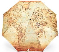 Зонт складной Ame Yoke RB 58 FS-3 (карта) -