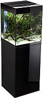 Аквариумный набор Aquael Glossy Cube Set 50 / 114847/114848 (черный) -