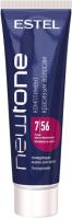 Тонирующая маска для волос Estel Newtone 7/56 (60мл, русый красно-фиолетовый ) -