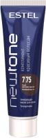 Тонирующая маска для волос Estel Newtone 7/75 (60мл, русый коричнево-красный ) -
