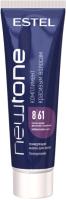 Тонирующая маска для волос Estel Newtone 8/61 (60мл, светло-русый фиолетово-пепельный ) -
