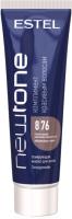 Тонирующая маска для волос Estel Newtone 8/76 (60мл, светло-русый коричнево-фиолетовый ) -